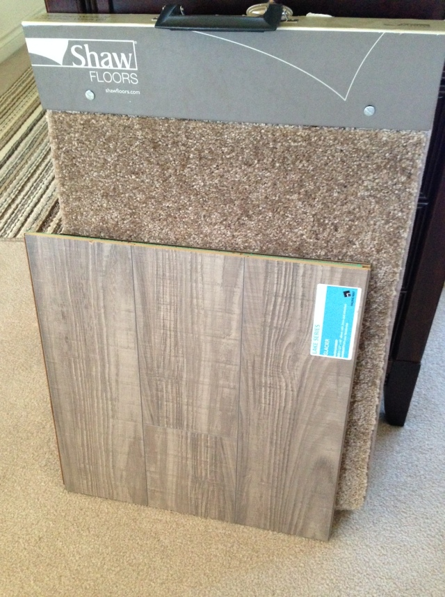 Our flooring choices.