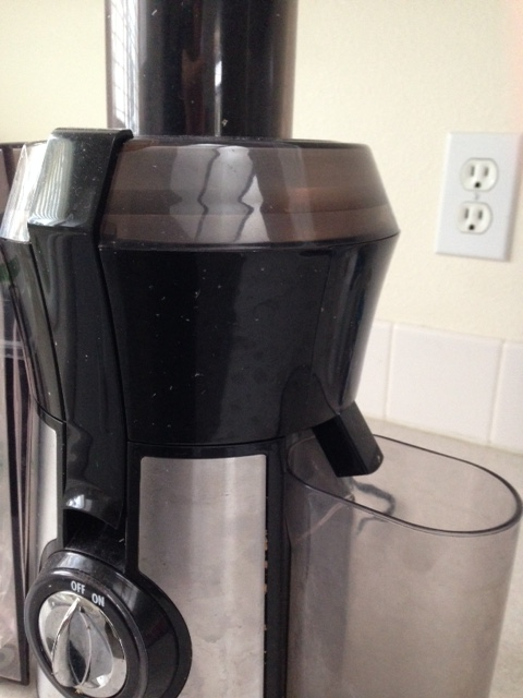 Our trusty Hamilton Beach juicer.